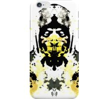 Rorschach Scorpion (MKX Version) iPhone Case/Skin