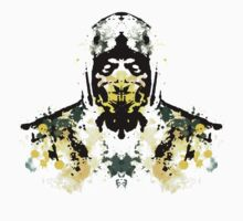 Rorschach Scorpion (MKX Version) T-Shirt