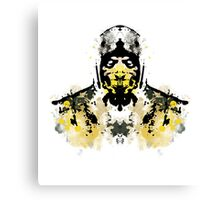 Rorschach Scorpion (MKX Version) Canvas Print