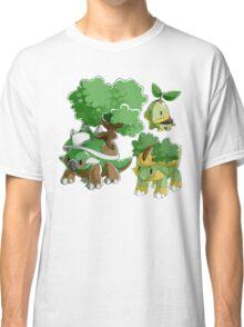 Sinnoh Project - Grass Starter Trio Classic T-Shirt
