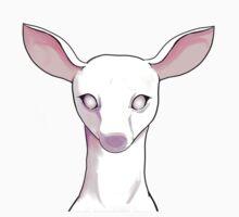 Albino Deer One Piece - Short Sleeve