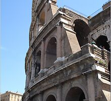 Colosseo rome by barbarareale