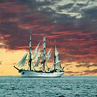 Quiet Evening at Sea by George Cousins