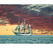 Quiet Evening at Sea Photographic Print