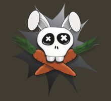 Bunny Skull Black Star Tee T-Shirt