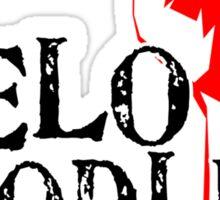 VeloHoodlum - Worker Sticker
