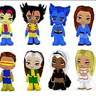 XMEN Chibis by Patricia Anne McCarty-Tamayo