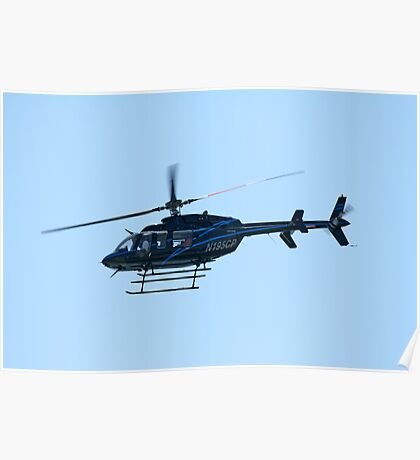 Bell Helicopter Poster