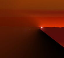 Edge of the Abyss to Hell by Ann  Warrenton
