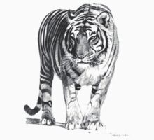 Bengal Tiger Illustration T-Shirt