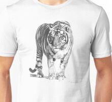 Bengal Tiger Illustration Unisex T-Shirt