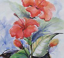Bunga Raya by Vickyh