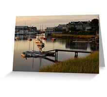 Wychmere Harbor Sunrise Greeting Card