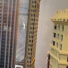 Lego Flatiron Building, Lego Store Fifth Avenue, New York City by lenspiro