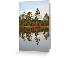 Autumn Reflector Greeting Card