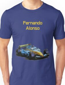 Fernando Alonso 2006 Renault R26 Unisex T-Shirt