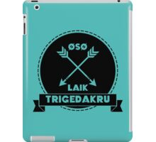 We Are Grounders iPad Case/Skin