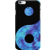 Blue Yin Yang iPhone Case/Skin
