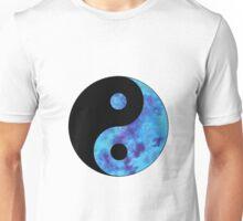 Blue Yin Yang Unisex T-Shirt