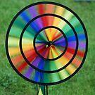 Rainbow created by wind by Arie Koene