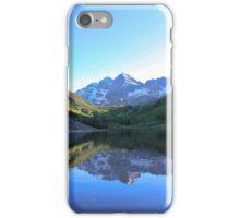Maroon Bells Snowmass Wilderness, Aspen iPhone Case/Skin