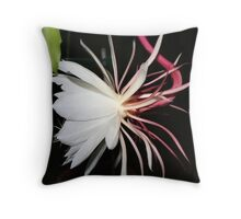 """Queen of the Night Profile"" Throw Pillow"