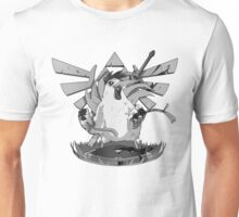 True Hero of Hyrule - Black and White Unisex T-Shirt