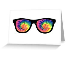 Rainbow Glasses Greeting Card