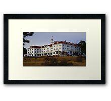 REDRUM..The Stanley Hotel, Estes Park, Colorado Framed Print