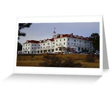 REDRUM..The Stanley Hotel, Estes Park, Colorado Greeting Card