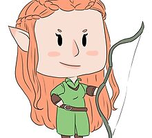 tiny tauriel by parthevia