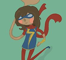 Ms Marvel by nerdfuffle