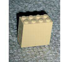 The Faded Lego Brick Photographic Print