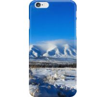 Winnemucca Mountain, Nevada iPhone Case/Skin