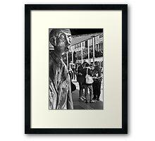 Secret Meeting Framed Print