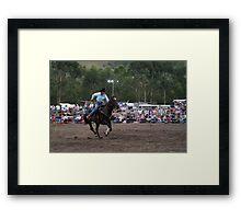 Picton Rodeo BR5 Framed Print