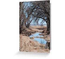Sage River Greeting Card