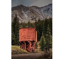 Boreas Pass Water Tower Photographic Print