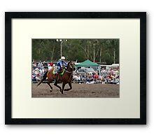 Picton Rodeo BR10 Framed Print