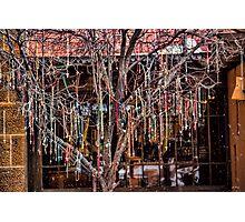 Cross Tree Photographic Print