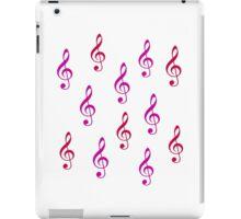 Music notes iPad Case/Skin