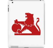 Red Old Holden Logo iPad Case/Skin