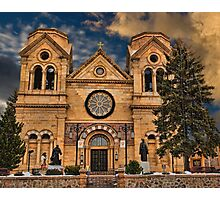 Saint Francis Cathedral Photographic Print