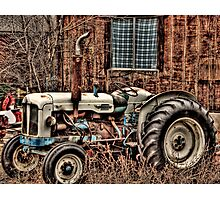 A pile of rust Photographic Print