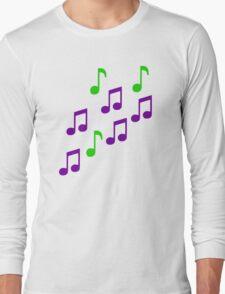 Music notes Long Sleeve T-Shirt