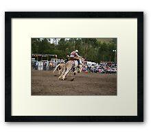 Picton Rodeo BRONC6 Framed Print