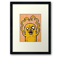 Freaky Looking Jake Framed Print