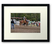 Picton Rodeo BRONC11 Framed Print