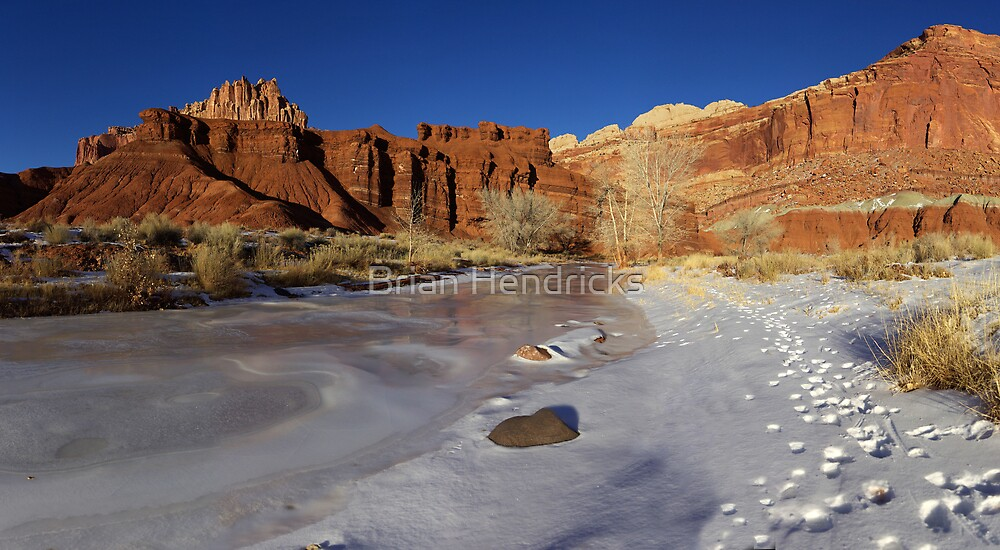 Frozen Desert by Brian Hendricks
