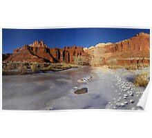 Frozen Desert Poster